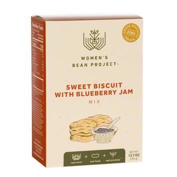 Women's Bean Project Sweet Biscuit with Blueberry Jam Mix,13.6 oz. box