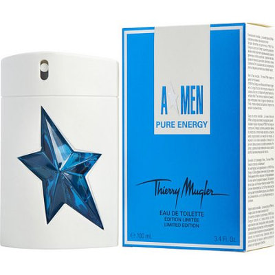 Angel Men Pure Energy By Thierry Mugler For Men Edt Spray 3.4 Oz