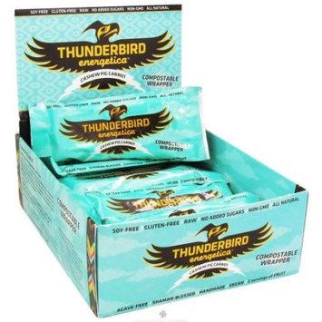 Thunderbird Energetica - Gluten Free Raw Energy Bar Cashew Fig Carrot - 1.7 oz.