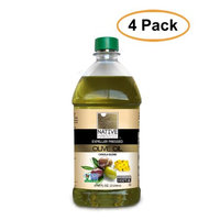 Native Harvest Expeller Pressed Non-GMO Olive/Canola Oil Blend, 2 Liters (67.6 FL OZ), 4 Pack