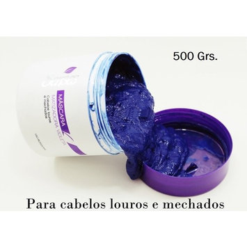 The ORIGINAL Brazilian Hair Botox Blond for Platinum Hairs or Highlighted Blondes - 500gr - Matizante Matizador Mattefying Violet Hair Mask - BTX Bottox!