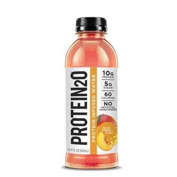 Protein2o Low-Calorie Whey Protein Drink, Peach Mango,16.9 Ounce (Pack of 12)