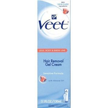 Veet Hair Removal Gel Cream, Sensitive Formula 5.1 fl oz (150 ml)
