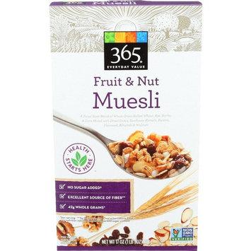 365 Everyday Value Fruit & Nut Muesli, 17 oz