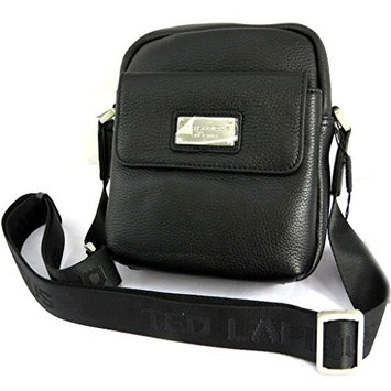 Leather bag 'Ted Lapidus' black (19x21x5.5 cm (0.00''x8.27''x2.17'') ).