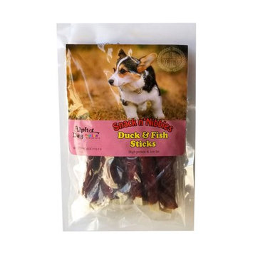 Any Pet International Alpha Dog Series Duck Wrapped Fish Sticks - 4oz