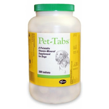 PFIZER 015PFZ01-500 Pet Tabs for Dogs - Pet Care Products