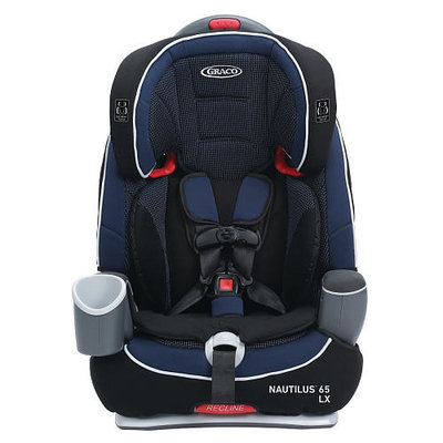 Graco Nautilus 65 LX 3-in-1 Harness Booster Car Seat - Royalty