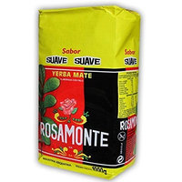 Yerba Mate Rosamonte Suave - 1 Bags of 2.2 Lbs