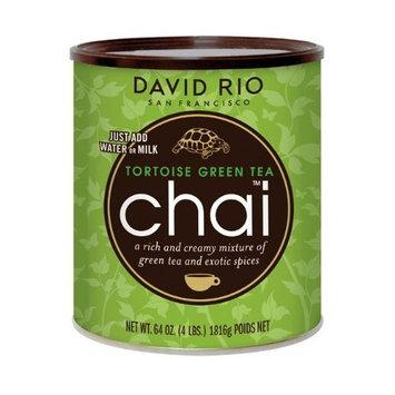 David Rio Tortoise Green Tea Chai, 4 Pound [Tortoise Green]