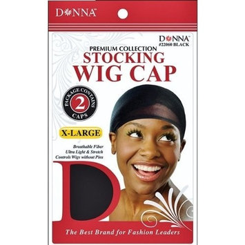 Premium Stocking Wig Cap X-Large - 6 Piece