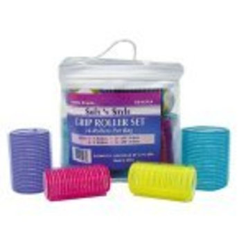 SOFT 'N STYLE 24 Pieces Self Grip Roller Set HC-EZSET24