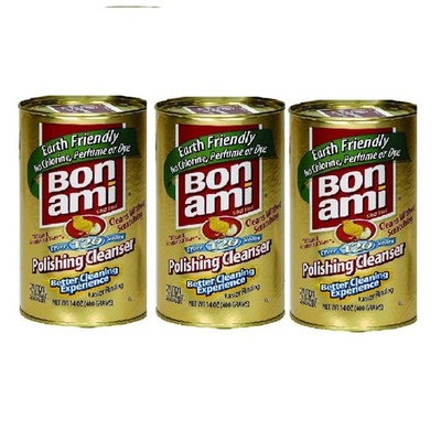 Bon Ami Polish and Cleanser Powder 14 Ounce