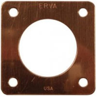 Erva PH2C 1.25 in. dia. Portal for Nuthatch Houses - Genuine Copper