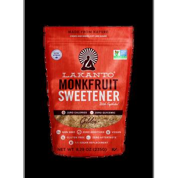 Lakanto Monkfruit Sweetener Golden 8.29 oz - Vegan