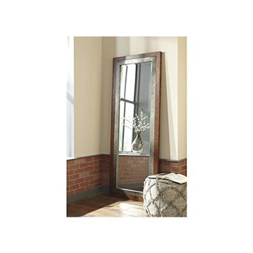 Signature Design by Ashley Niah Accent Floor Mirror - 30W x 78H in.