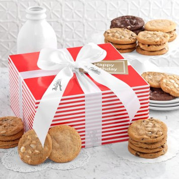 Mrs. Fields Sweet Stripes Large Box with 24 Cookies
