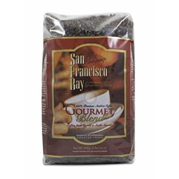 San Francisco Bay Gourmet Blend Ground Coffee, 908g (2 Packs)