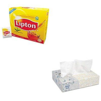 KITGEP48550LIP291 - Value Kit - Georgia Pacific Facial Tissue (GEP48550) and Lipton Tea Bags (LIP291)