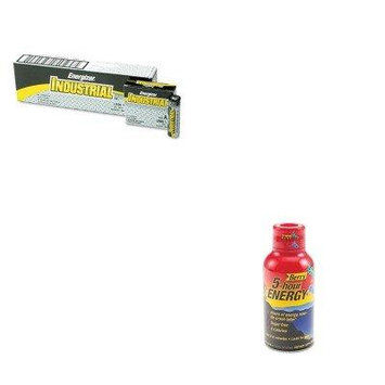 KITAVTSN500181EVEEN91 - Value Kit - Advantus Energy Drink (AVTSN500181) and Energizer Industrial Alkaline Batteries (EVEEN91)