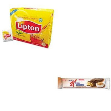 KITKEB29190LIP291 - Value Kit - Kellogg's Special K Protein Meal Bar (KEB29190) and Lipton Tea Bags (LIP291)