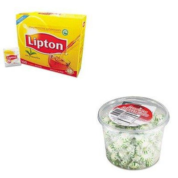 KITLIP291OFX70005 - Value Kit - Office Snax Starlight Mints (OFX70005) and Lipton Tea Bags (LIP291)