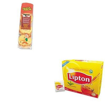 KITKEB21167LIP291 - Value Kit - KEEBLER COMPANY Sandwich Crackers (KEB21167) and Lipton Tea Bags (LIP291)