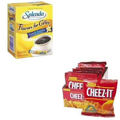 KITJOJ243010KEB12233 - Value Kit - Splenda Flavor Blends for Coffee (JOJ243010) and Kellogg's Cheez-It Crackers (KEB12233)