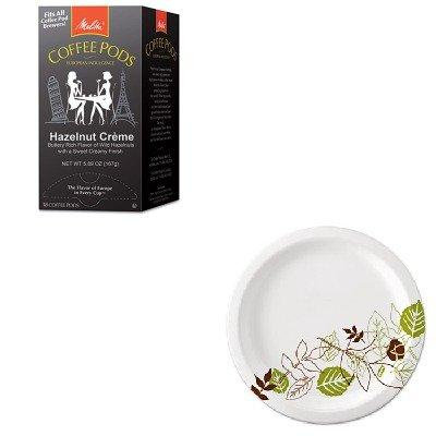KITDXEUX9WSPKMLA75410 - Value Kit - Melitta Coffee Pods (MLA75410) and Dixie Pathways Mediumweight Paper Plates (DXEUX9WSPK)
