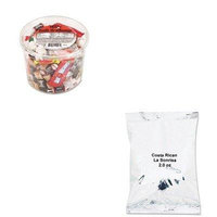 KITJAV39930404021OFX00013 - Value Kit - Distant Lands Coffee Coffee Portion Packs (JAV39930404021) and Office Snax Soft amp;amp; Chewy Mix (OFX00013)