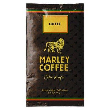Marley Coffee 2370 Coffee Fractional Pack, Marley Mixer, 16/Box