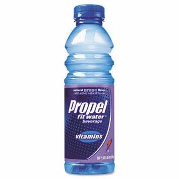 Propel Fitness Water Flavored Water, Grape, Bottle, 500mL, 24/Carton