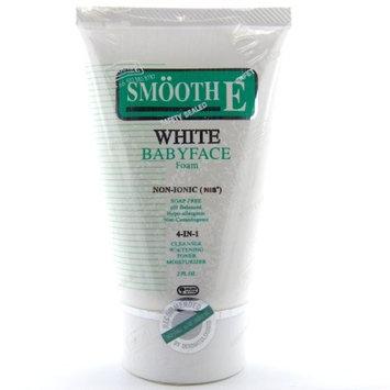 Smooth E White Babyface Non-Ionic Facial Foam 2 oz