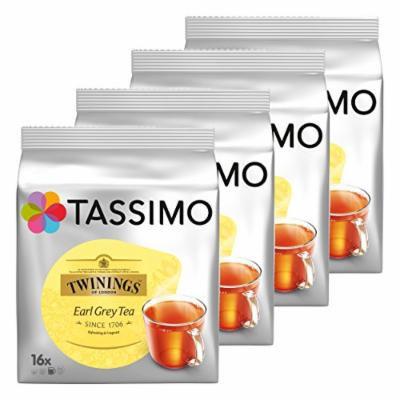 Tassimo Twinings Earl Grey Tee, 4er Pack, 4 x 16 T-Discs
