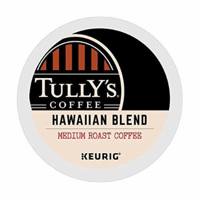 Tully's Coffee Hawaiian Blend, Medium Roast, Extra Bold, 24 Count Size: 24 Count FlavorName: Hawaiian Blend Model: 24 K-Cups (Home & Kitchen)