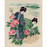 Riolis cross stitch kit 1535 Morning Dew STICKPACKUNG japan