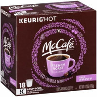 McCafe French Roast Dark Coffee K-Cup Packs 18 ct 6.2 oz