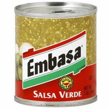 Embasa Medium Salsa Verde 7 oz (Pack of 12) WLM