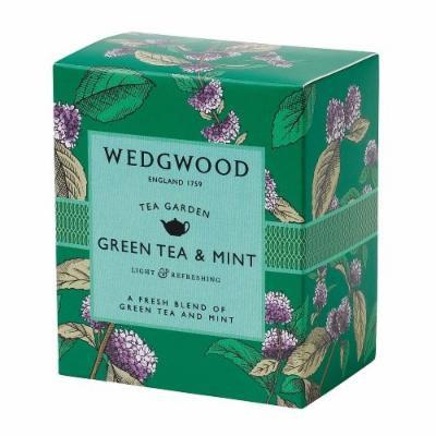 Wedgwood Tea Garden Tea Green Tea & Mint 60 gr Box
