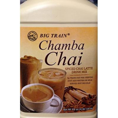 Chamba Chai Spiced Chai Latte 4lb. Container; New;