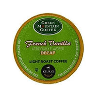 Green Mountain Decaffeinated Keurig KCup Coffee - French Vanilla Decaf (12 K-Cups)