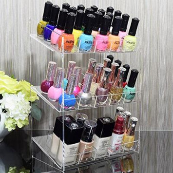 Ikee Design Makeup organizer Nail Polish Holder Acrylic Display