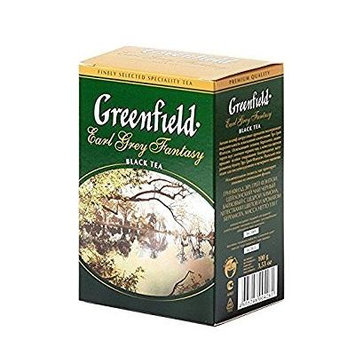Greenfield Tea, Earl Grey Fantasy, 100 tea bags,7.04oz