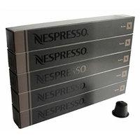50 Nespresso Bvnzig OriginalLine Capsules, Roma, 50 Count - NOT compatible with Vertuoline