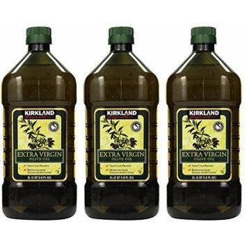 Kirkland Signature, Extra Virgin Olive Oil, 3 Units (2 QT 3.6 FL OZ)