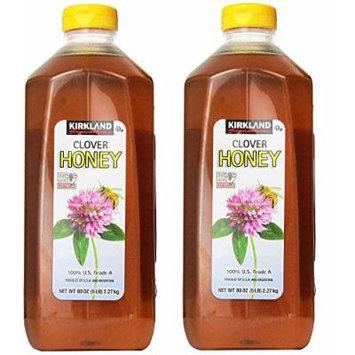 Kirkland Signature Pure Honey, qouRFU 2 Pack(5 Pound)