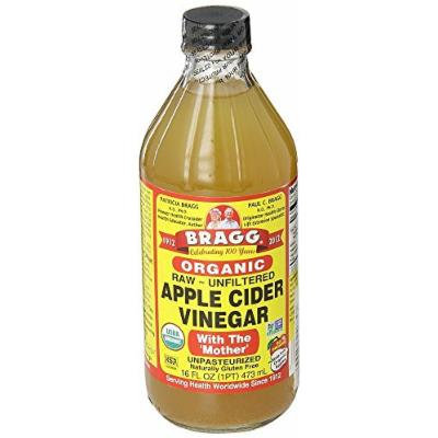 Bragg ZFSVxP USDA Gluten Free Organic Raw Apple Cider Vinegar, With the Mother, 16 Ounce (2 Units)