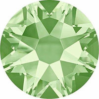 2000, 2058 & 2088 Swarovski Nail Art Gems Chrysolite   SS34 (7.2mm) - 144 Crystals (Wholesale)   Small & Wholesale Packs   Free Delivery