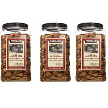 Kirkland Signature Peanut Butter Pretzel, 3 Pack(52 Ounce)