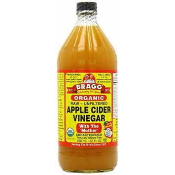 Bragg Organic Raw Apple Cider Vinegar, 32 oz (2 Units)